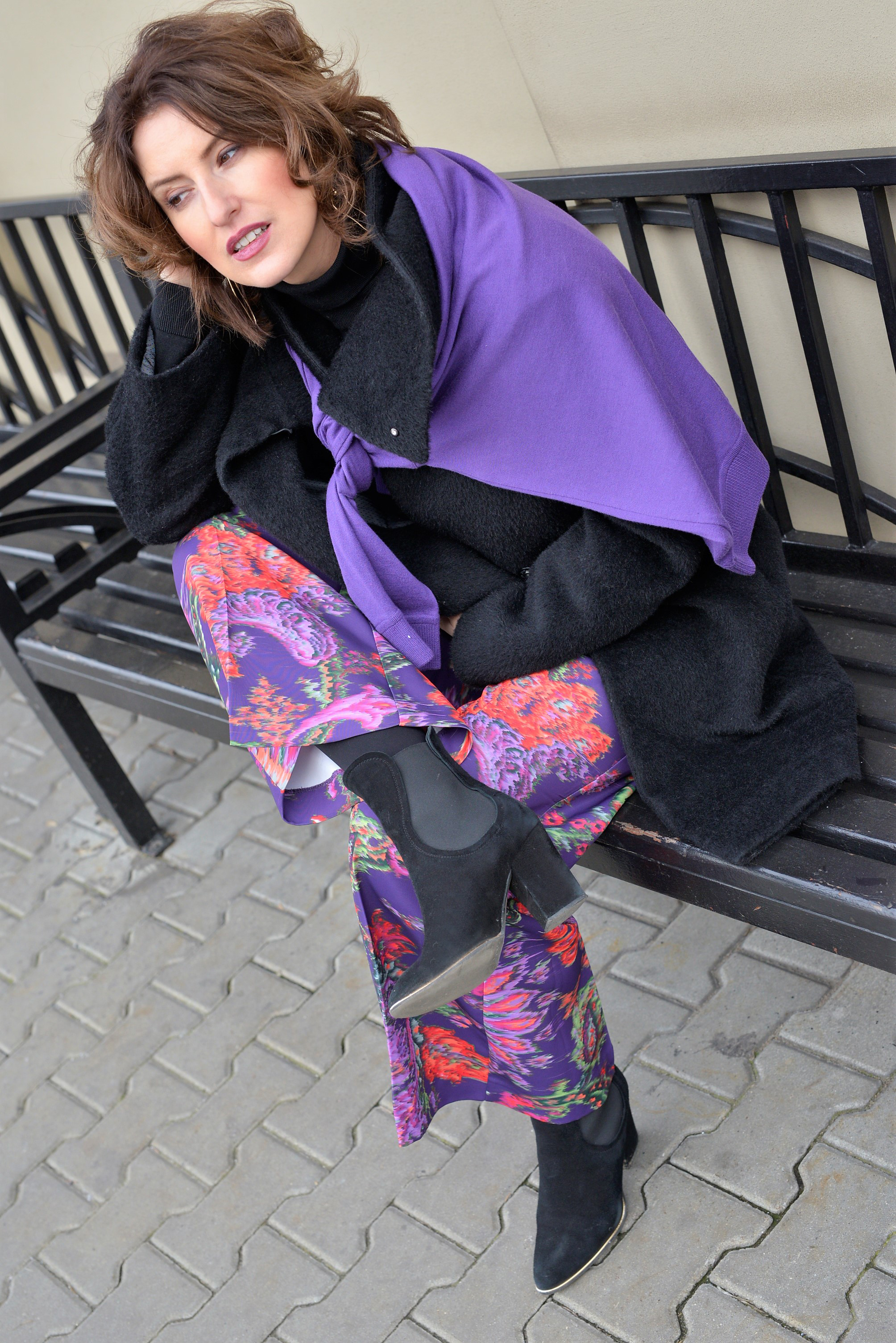 ultraviolet, pants, black