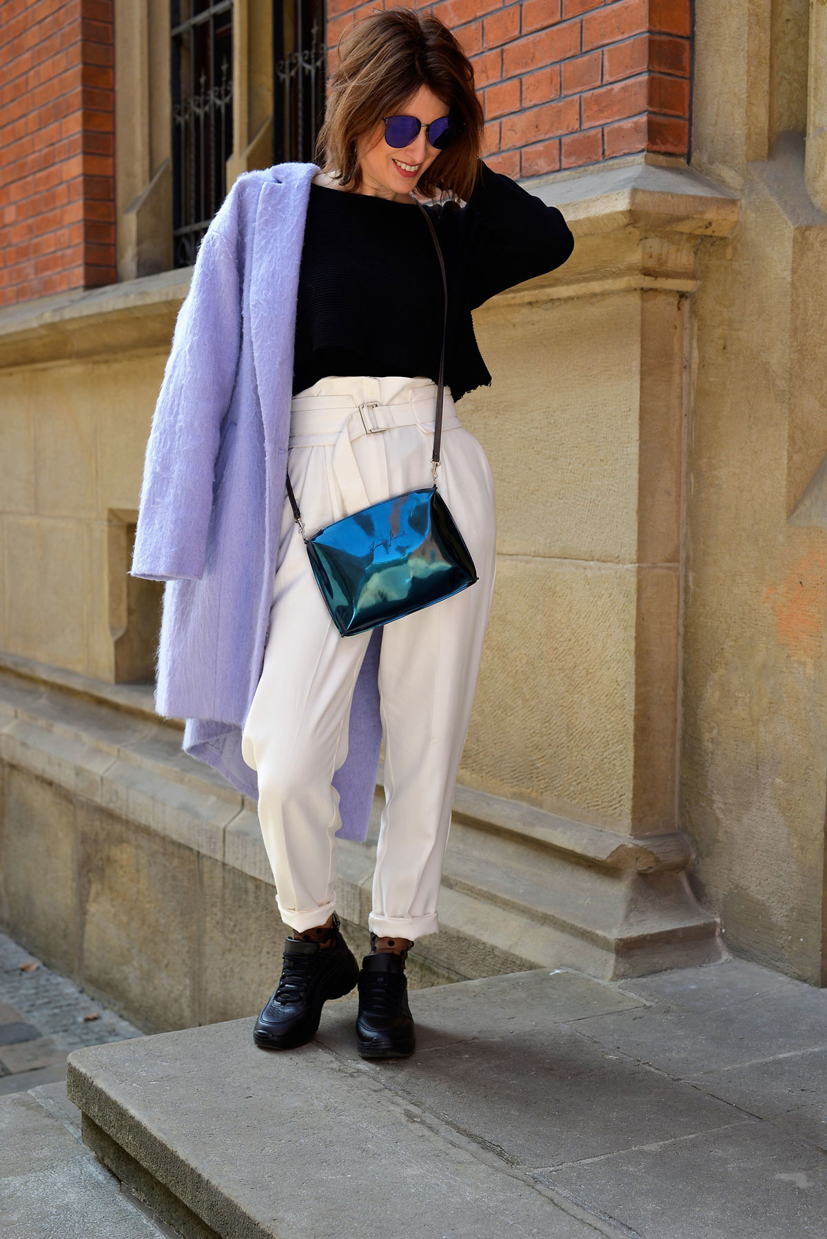 joanna_kruczek, ultraviolet, highwaist pants