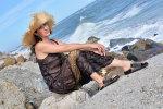 Jedwabna sukienka. I co zjeść nad morzem Andaluzji.