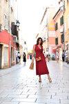 Spontaniczna Chorwacja i kopertowa sukienka